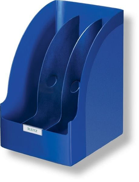 Stojan na časopisy Leitz Jumbo Plus modrý