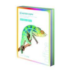 Papír kopírovací colour Master A4, 80g světlá duha mix 5 barev - 500 listů