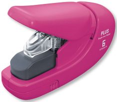 Sešívač bezsponkový PLUS růžový