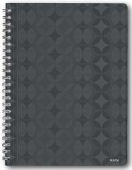 Blok na psaní Leitz Retro Chic A4 linkovaný šedý
