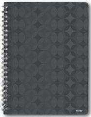 Blok na psaní Leitz Retro Chic A4 čtverečkovaný šedý