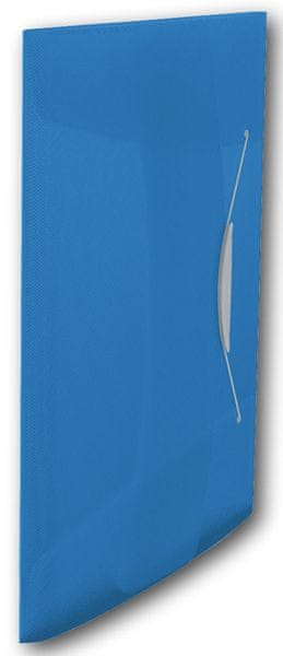 Desky na spisy s gumičkou Esselte VIVIDA 3 klopy modré
