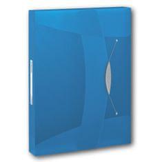 Box na spisy Esselte VIVIDA modrý