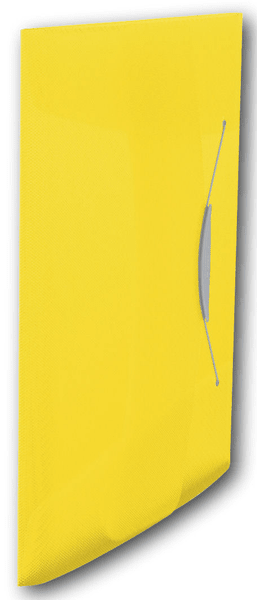 Desky na spisy s gumičkou Esselte VIVIDA 3 klopy žluté