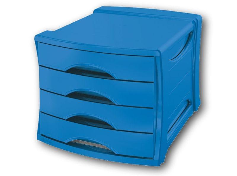 Box zásuvkový Esselte Europost VIVIDA modrý