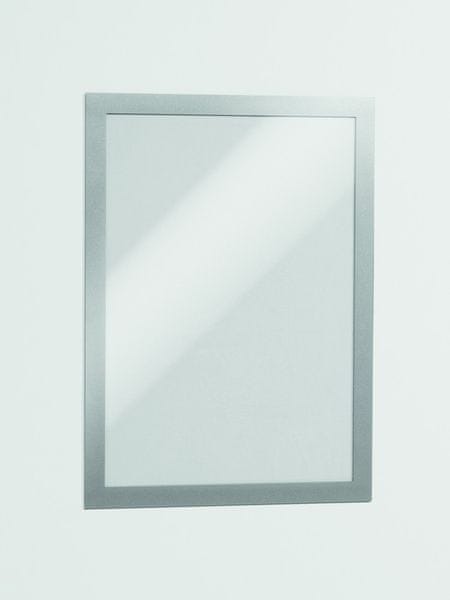 Informační rámeček Duraframe A4 stříbrný