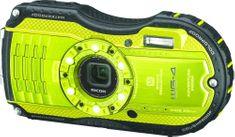 Ricoh WG-4 + neoprenové pouzdro + SD karta 8 GB + plavací řemínek