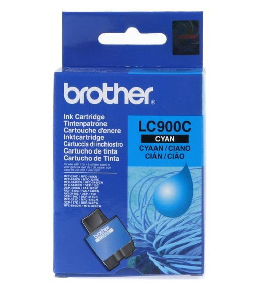 Brother LC-900C azurová , (LC900CYJ1)