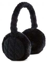 KitSound Slušalke EarMuffs Chunky Cable Knit