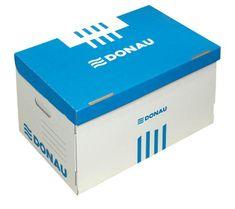 Donau arhivska škatla 522 x 351 x 305mm, modra