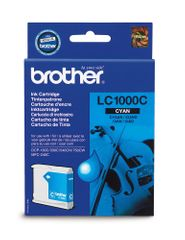 Brother LC1000C azurová