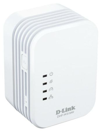 D-LINK DHP-W310AV PowerLine WiFi N Mini Extender Adapter