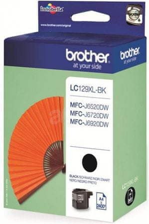 BROTHER oryginalny tusz LC129XLBK