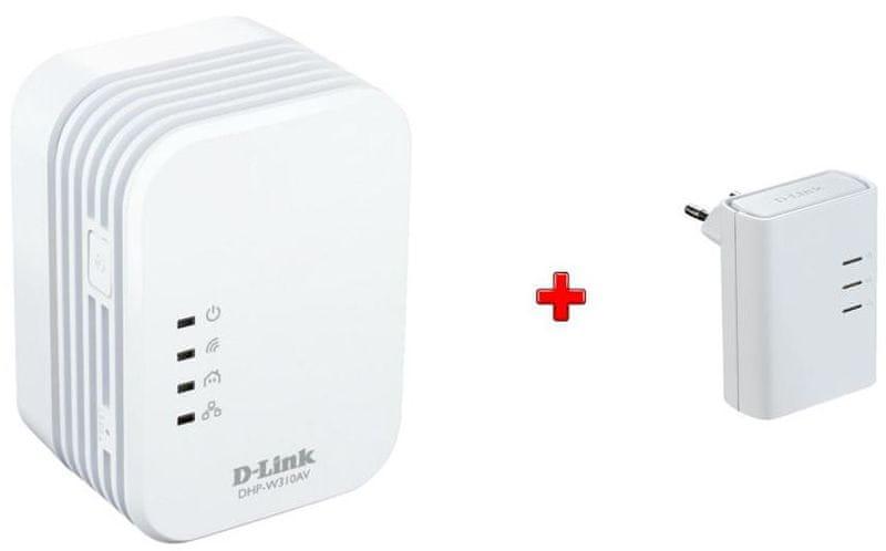 D-Link DHP-W311AV PowerLine WiFi N Mini Extender Kit