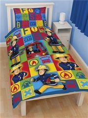 Otroška posteljnina Gasilec Samo Duty