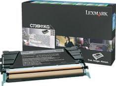 Lexmark toner C736H1KG, 12000 stranica