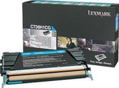 Lexmark toner C736H1CG Cyan, 10000 stranica