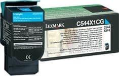 Lexmark Toner C544X1CG Cyan 4000 ispisa
