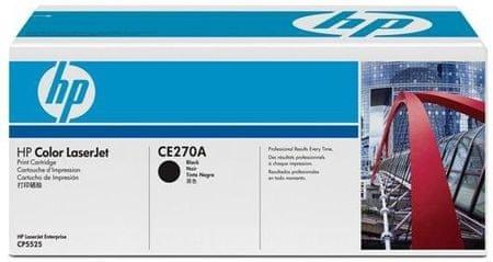 HP toner 650A črn (CE270A), 13500 strani