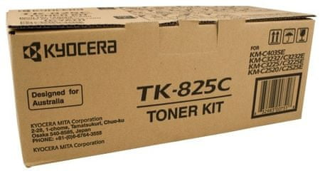 Kyocera toner TK825C Cyan, 7.000 stranica