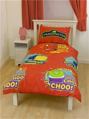 Otroška posteljnina Chuggington, Traintastic Single Rotary