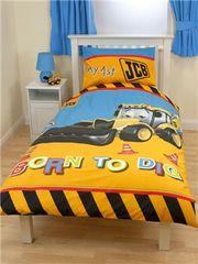 Otroška posteljnina My first JCB Dig, enojna