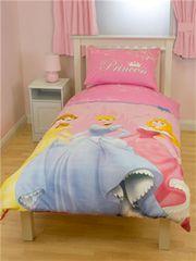 Otroška posteljnina Disney Princess Royal, obojestranska