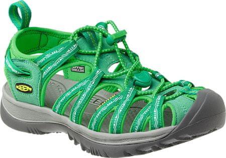 KEEN sandali Whisper, ženski, zeleni US 8,0 38.5