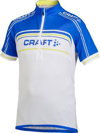 Craft Cyklodres Logo Gyerek kerékpáros mez, Kék, 146/152