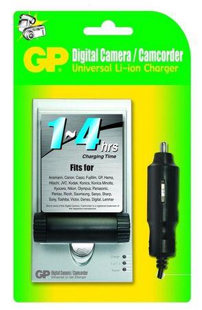 GP Univerzalni polnilec za digitalne kamere in fotoaparate