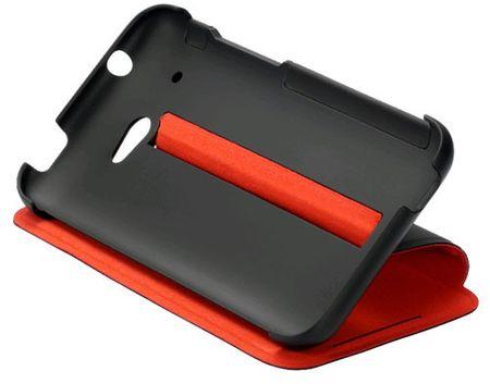 HTC Preklopna torbica HC za Desire 601, rdeče-črna