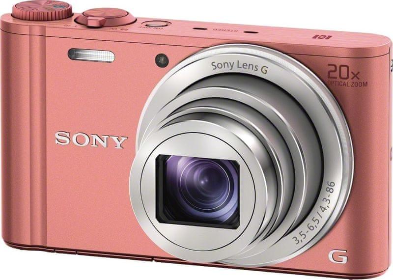 Sony CyberShot DSC-WX350 Pink (DSCWX350P.CE3)