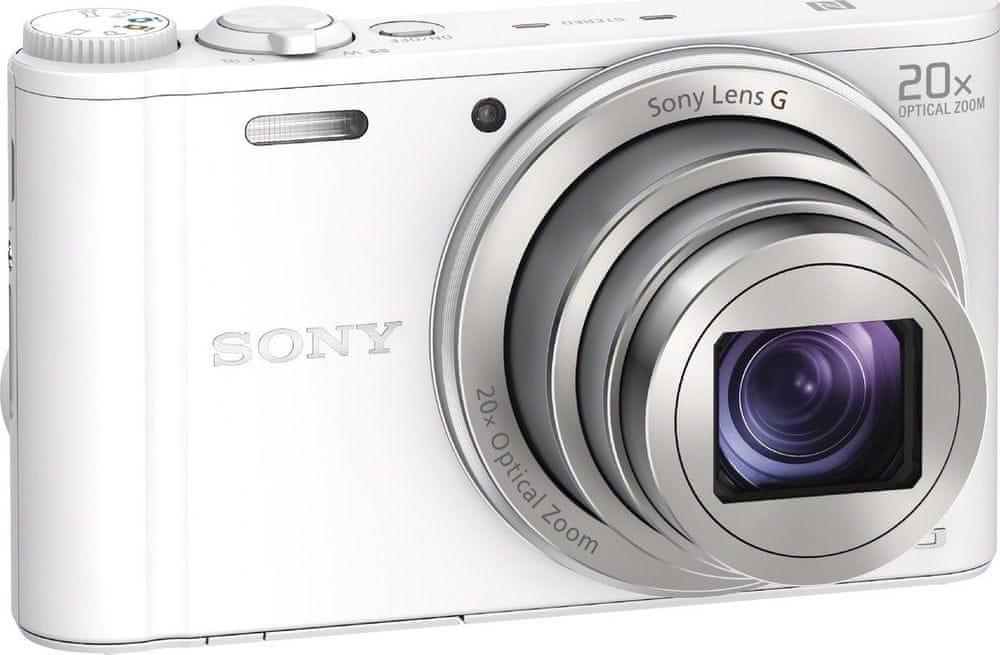 Sony CyberShot DSC-WX350 White (DSCWX350W.CE3) - zánovní