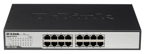 D-LINK gigabitni switch D-Link DGS-1016D 16-portni