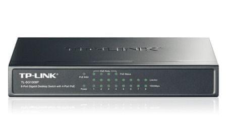 TP-Link Gigabitni switch TP-Link TL-SG1008P 8-port