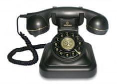 Brondi Vrvini telefon Vintage 20, črn