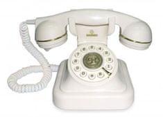 Brondi Vrvični telefon Vintage 20, bel