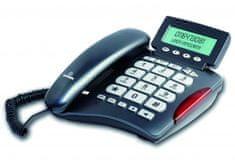 Brondi Vrvični telefon Bravo 20, črn