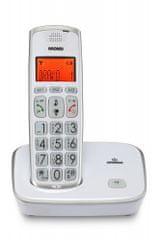 Brondi Brezvrvični telefon Bravo Gold 2, bel