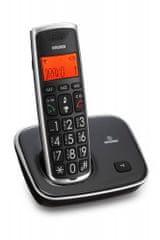 Brondi Brezvrvični telefon Bravo Gold 2, črn