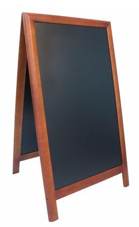 Securit ulična črna kredna tabla Sandwich, brown, 70 x 120 cm