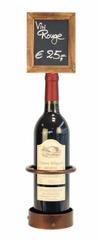 Securit Displey za vinsko steklenico s črno kredno tablo Securit, 10,5 x 45 cm