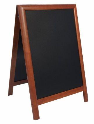 Securit Ulična kredna tabla Duplo SBDDB85, rjavi okvir, 55 x 85 cm