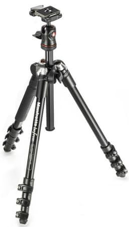 Manfrotto BeFree Compact Tripod, Fekete