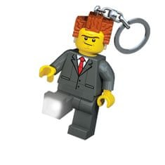 LEGO The Movie President obesek za ključe z led lučjo
