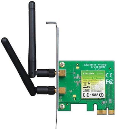 TP-Link Brezžična PCI- E mrežna kartica TP-Link TL-WN881ND