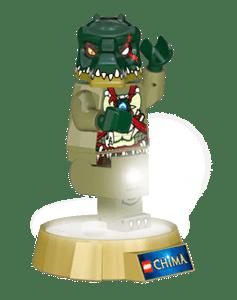 LEGO® Chima Cragger baterka a noční lampa
