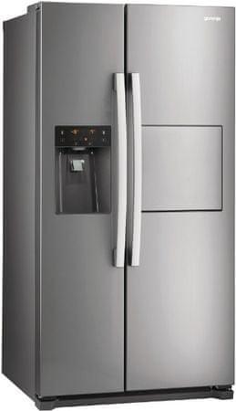 Gorenje kombinirani hladilnik NRS9181CXB
