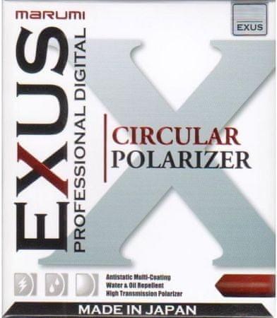 Marumi Filter cirkularni polarizacijski EXUS CPL, 67 mm