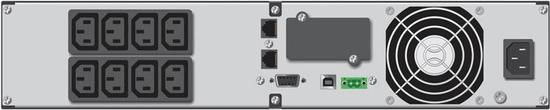 BlueWalker brezprekinitveno napajanje UPS PowerWalker VI 2000RT LCD - Line Interactive